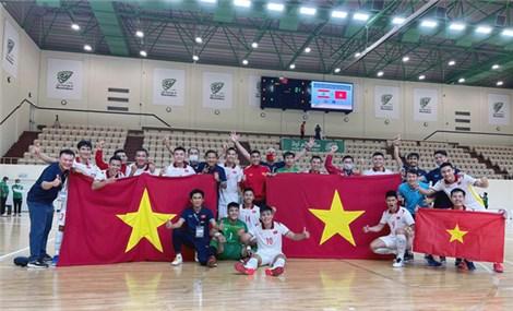 Futsal Việt Nam lần thứ 2 liên tiếp giành vé dự World Cup