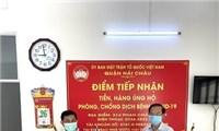 Hội Hữu nghị Việt Nam - Campuchia quận Hải Châu (Đà Nẵng) ủng hộ phòng, chống dịch COVID-19