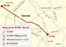 Tây Ninh thống nhất kiến nghị TP.HCM xây đường cao tốc đi Mộc Bài