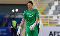 Goalkeeper Dang Van Lam was removed from the Vietnamese team because he is F1