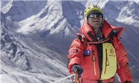 """The first Asian blind person to conquer the""""Roof of the World"""""""