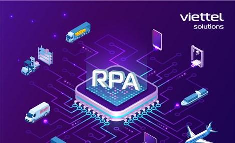 Thúc đẩy chuyển đổi số DN với giải pháp tự động hoá quy trình Viettel RPA