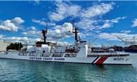 Tàu cảnh sát biển 8021 rời Mỹ về Việt Nam