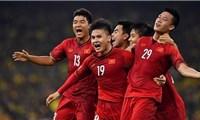 Xếp hạng bảng G vòng loại World Cup 2022: Việt Nam vẫn đầu bảng, ba đội cùng 9 điểm
