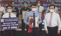 Tập đoàn cao su Việt Nam ủng hộ Quỹ Vaccine 200 tỷ đồng