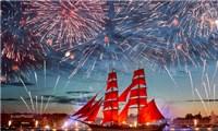 NGA - Lễ hội'Cánh buồm đỏ thắm' giữa đêm trắng xứ bạch dương