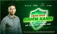 """Chiến dịch """"khiên xanh"""" vì một internet an toàn cho người Việt"""