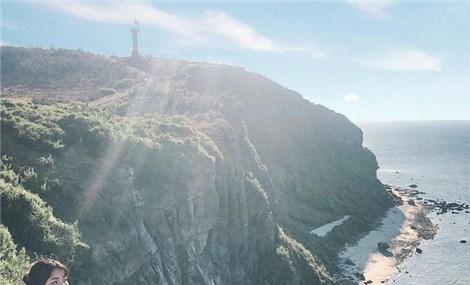 Hòn đảo có hai miệng núi lửa ở Quảng Ngãi