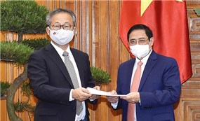 Japan supports Vietnam with one million doses of Covid-19 vaccine