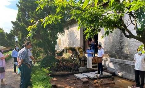 Khai quật khảo cổ điện Thái Hòa xuất lộ nhiều dấu tích quan trọng