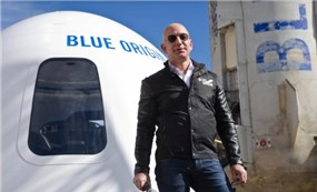 $28 million for a ticket to space with billionaire Jeff Bezos