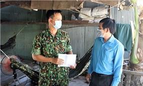 LĐLĐ tỉnh Đồng Tháp chia sẻ khó khăn với lực lượng tuyến đầu chống dịch