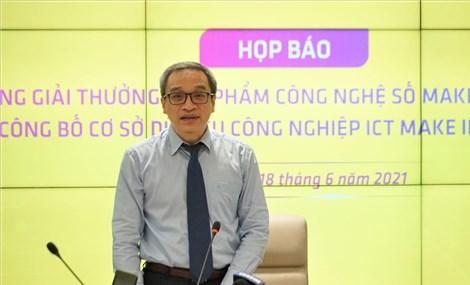 """Phát động Giải thưởng """"Sản phẩm công nghệ số Make in Viet Nam năm 2021"""""""