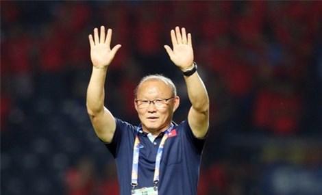 Quê nhà HLV Park Hang Seo treo băng rôn chúc mừng tuyển Việt Nam