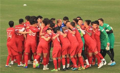 Đội tuyển Việt Nam tập trung một tuần trước vòng loại World Cup