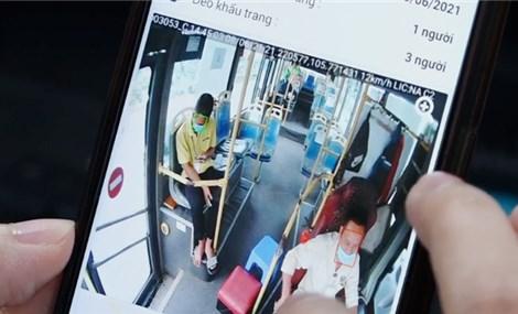 AI phát hiện người không đeo khẩu trang trên xe khách