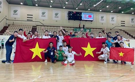 Tuyển futsal Việt Nam đấu Nhật Bản trước thềm World Cup