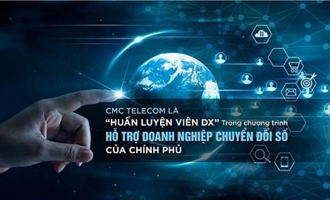 """CMC Telecom là """"huấn luyện viên DX"""" trong chương trình Hỗ trợ doanh nghiệp chuyển đổi số của Chính phủ"""