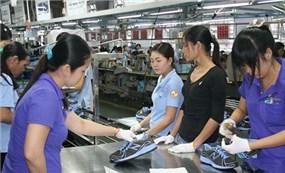 Việt Nam xuất khẩu da giày 6 tháng vượt ngưỡng 10 tỷ USD