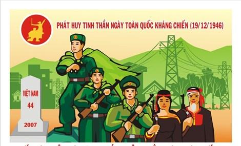 Phát động cuộc thi sáng tác tranh cổ động về Ngày Toàn quốc kháng chiến