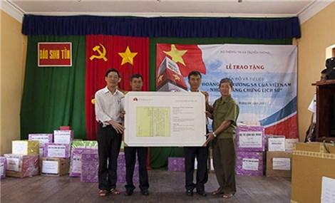 确定黄沙与长沙群岛归属越南的历史依据 (第三期)