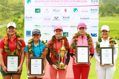 US Women's Amateur lần đầu có golfer Việt Nam