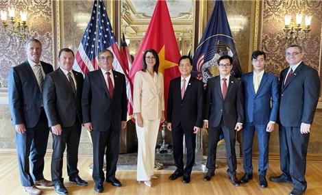 Việt Nam coi trọng hợp tác với Hoa Kỳ