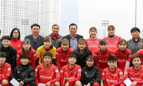 ĐT Nữ Việt Nam đặt mục tiêu góp mặt ở VCK World Cup 2023