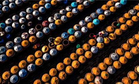 Ngắm bộ ảnh 'Việt Nam nhìn từ trên cao' đạt bằng Danh dự cuộc thi ảnh thường niên FIAP