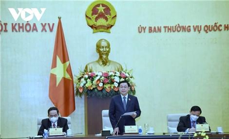 Bổ sung nội dung phòng, chống covid-19 vào Kỳ họp thứ nhất, Quốc hội khóa XV