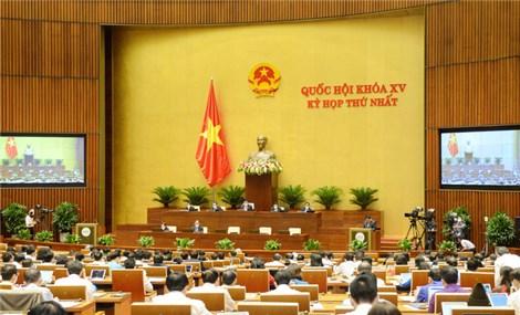 Họp Quốc hội: Trình danh sách đề cử để Quốc hội bầu Chủ tịch nước