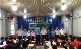 Khai giảng 2 lớp học cho con em người gốc Việt tại Campuchia