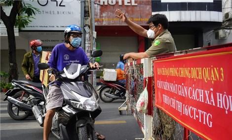 TP HCM yêu cầu người dân không ra đường sau 18h