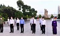 TP.HCM dâng hoa, dâng hương tưởng niệm các Anh hùng Liệt sĩ
