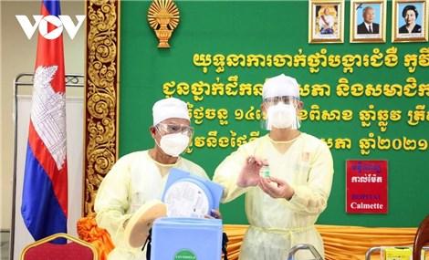 Campuchia cho phép tư nhân tham gia cung ứng vaccine Covid-19