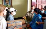 Những tấm lòng chia sẻ đến với người gốc Việt tại Preah Sihanouk
