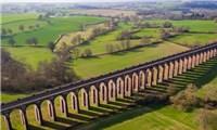 Cây cầu cạn ấn tượng bậc nhất nước Anh