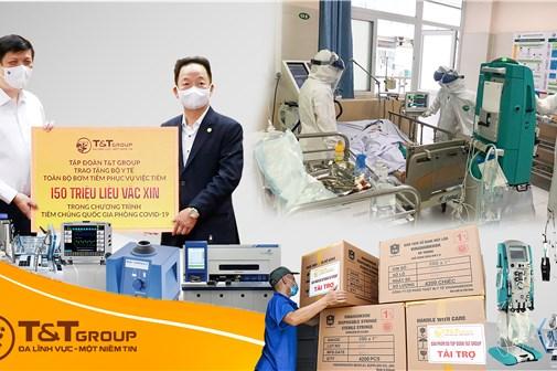 T&T Group tiếp tục tài trợ 20 tỷ đồng mua trang thiết bị y tế phòng, chống dịch COVID-19