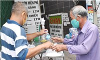 Những tấm lòng nhânái ở tâm dịch TP. Hồ Chí Minh