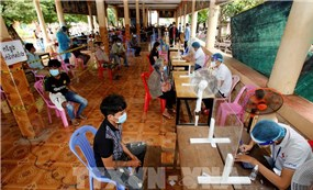 """WHO cảnh báo Campuchia đang ở thời điểm """"then chốt"""" để chặn dịch"""