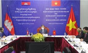 Việt Nam - Campuchia đẩy mạnh hợp tác phòng, chống tội phạm
