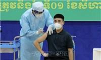 Số ca mắc COVID-19 tại Campuchia giảm nhưng biến thể Delta bắt đầu lan rộng