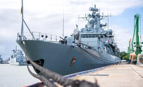 Trung Quốc thận trọng với tàu chiến Đức đến Biển Đông