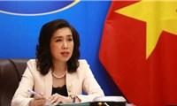 Việt Nam lên tiếng về việc Trung Quốc tập trận ở khu vực quần đảo Hoàng Sa