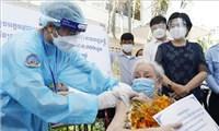 8 ngày liên tiếp Campuchia giảm số ca mắc mới COVID-19