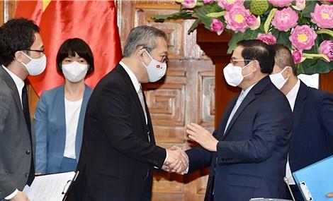 Đề nghị Nhật Bản tiếp tục hỗ trợ, nhượng lại vắc xin Covid-19 cho Việt Nam