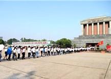 Lăng Chủ tịch Hồ Chí Minh - Mãi là không gian thiêng liêng của dân tộc