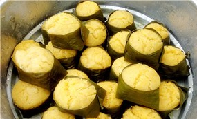 Jaggery beef cake of Khmer people in the South