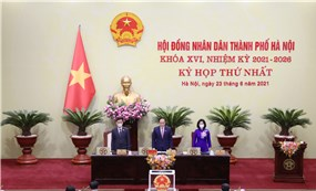 Hanoi, the second meeting of the 16th City People's Council