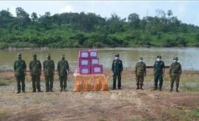Biên phòng Việt Nam và Campuchia tăng cường phối hợp phòng, chống dịch